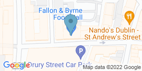 Google Map for Fallon & Byrne - Exchequer Street Wine Cellar
