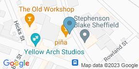 Google Map for Piña