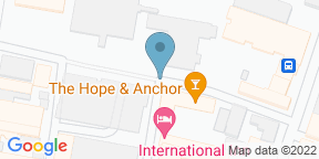 Google Map for Hope & Anchor Liverpool