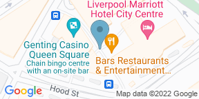 Google Map for Yates Liverpool (Queen Sq)