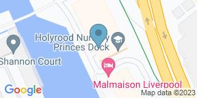 Google Map for Malmaison Brasserie - Liverpool