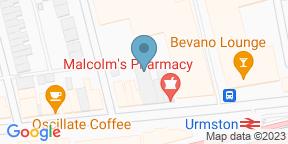 Google Map for Astoria Bar and Restaurant