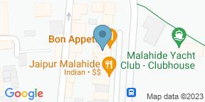 Google Map for Bon Appetit