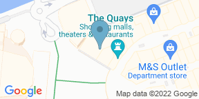Google Map for Harvester - The Lowry