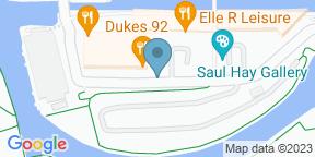 Google Map for Dukes 92