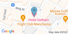 Google Map for Honey at Hotel Gotham
