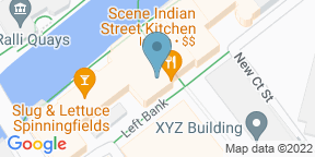 Google Map for 202 Kitchen Manchester
