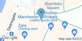 Google Map for Second Floor Bar and Brasserie Manchester