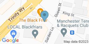 Google Map for The Blackfriar