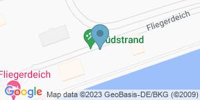 Google Map for Restaurant Fliegerdeich