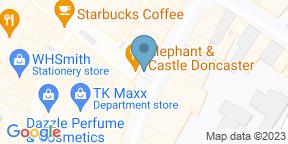 Google Map for Elephant & Castle - Doncaster