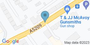 Google Map for Albert's Standish