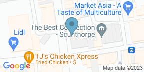 Google Map for The Black Door