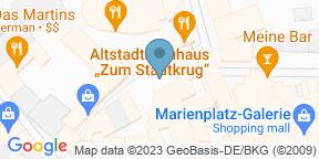 Google Map for Zum Stadtkrug Schwerin