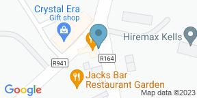 Google Map for Jacks Bar Restaurant and Garden