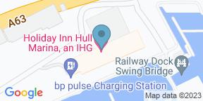 Google Map for Holiday Inn - Hull