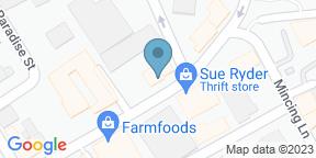 Google Map for Finest Italian