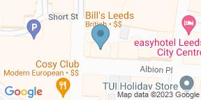 Google Map for Bill's Restaurant & Bar - Leeds