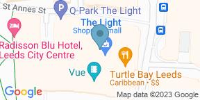 Google Map for Browns -  Leeds