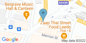 Google Map for Chef Jono at Vice & Virtue