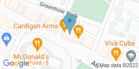 Google Map for The Cardigan Arms