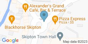Google Map for Black Horse Skipton