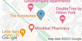 Google Map for Keystones York