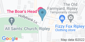 Google Map for The Boar's Head
