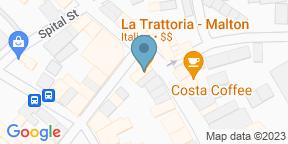 Google Map for La Trattoria Malton
