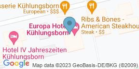 Google Map for Brasserie - Europa Hotel Kühlungsborn