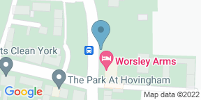 Google Map for The Restaurant at Worsley Arms