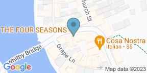 Google Map for Four Seasons Restaurant