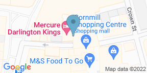 Google Map for King's Grill at Mecure Darlington Kings Hotel