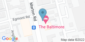 Google Map for The Baltimore Hotel