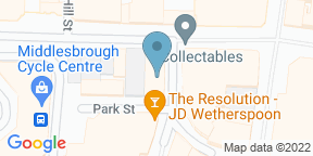 Google Map for The Discovery Middlesbrough