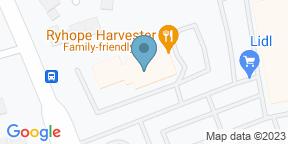Google Map for Harvester - Ryhope