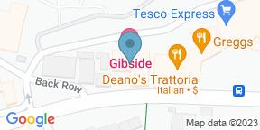 Google Map for Gibside Hotel