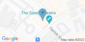 Google Map for Stage Door Cafe