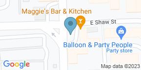 Google Map for Maggie's Bar & Kitchen
