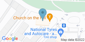 Google Map for Church on the Hill