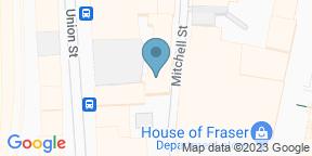 Google Map for Tingle Bar Glasgow