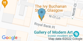 Google Map for The Ivy Buchanan Street Glasgow