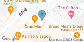 Google Map for Òran Mór Brasserie
