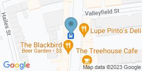 Google Map for The Blackbird