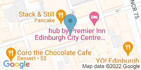 Google Map for Veeno Edinburgh