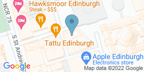 Google Map for Cafe Royal - Edinburgh