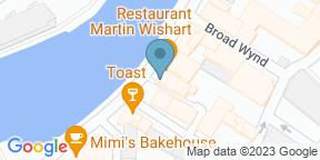 Google Map for Restaurant Martin Wishart