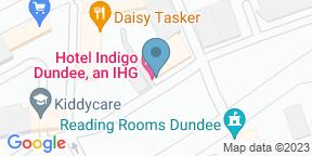 Google Map for Daisy Tasker at Hotel Indigo Dundee