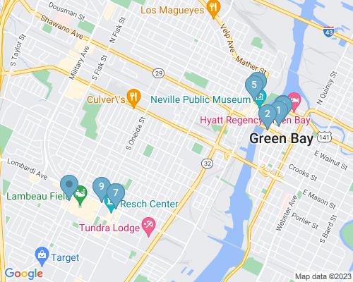 Landing Page Map