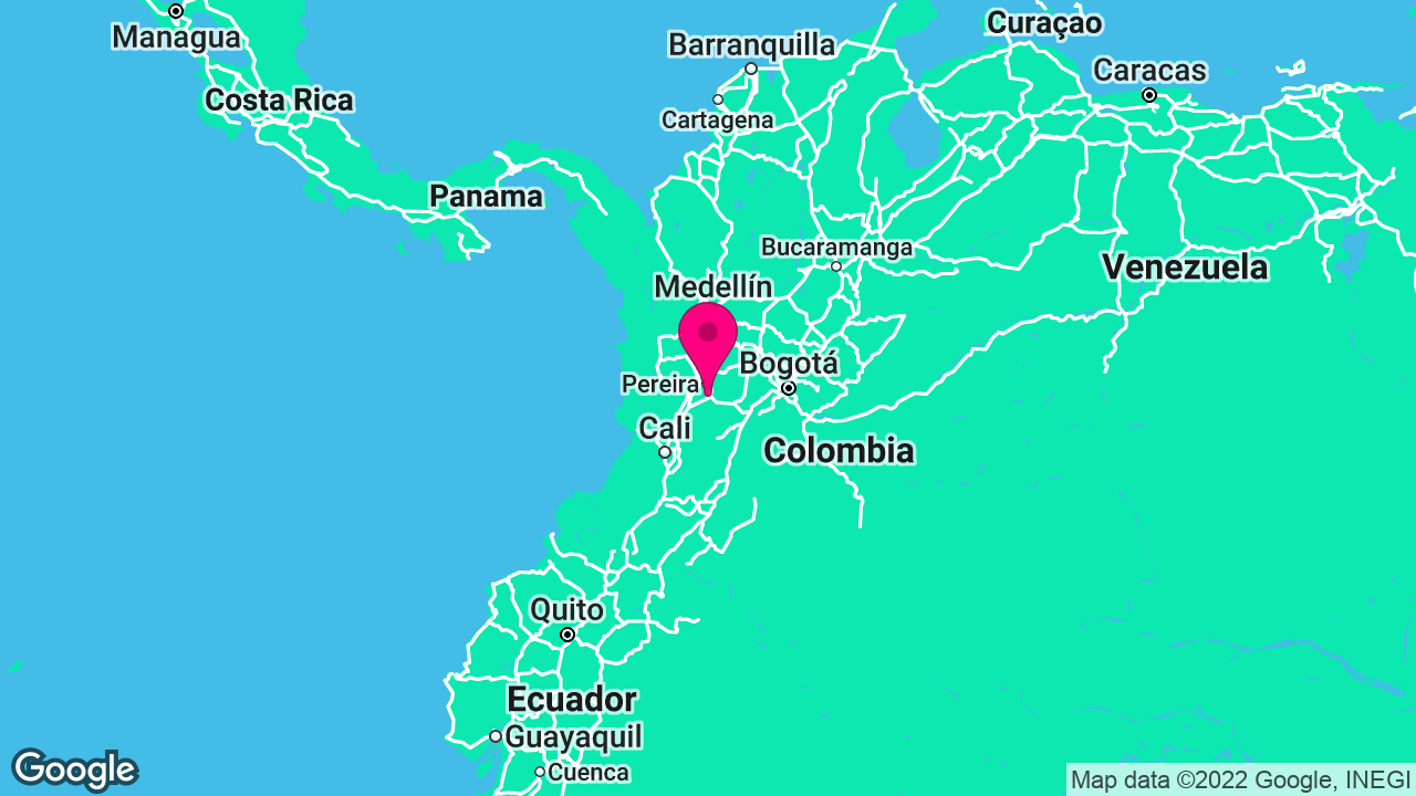 Operations & Supply Chain Expert for Lean Thinking Project in Colombia's map location